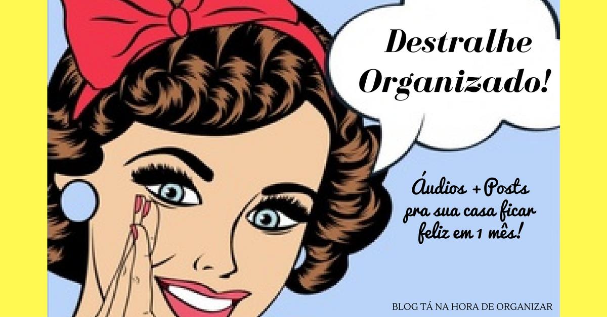 Passos do Destralhe Organizado.