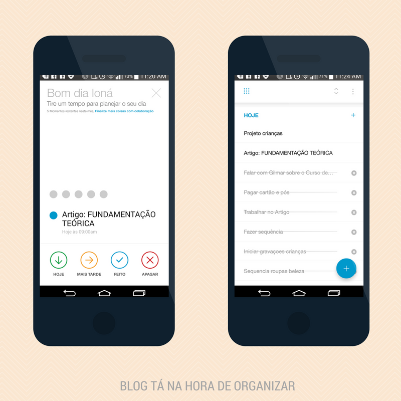 Se organize com o app Any.do