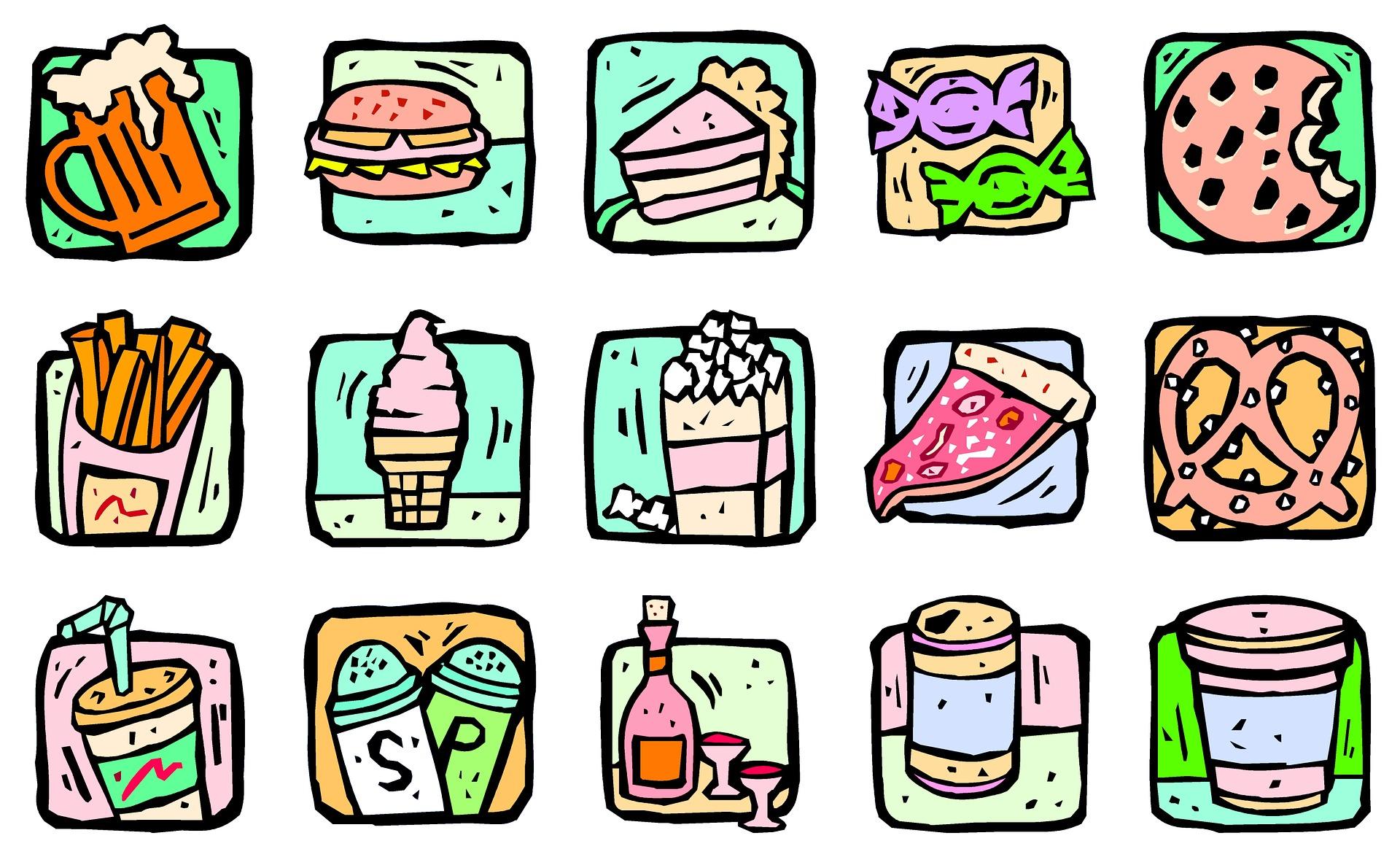 Exclua alimentos artificiais da sua alimentação.