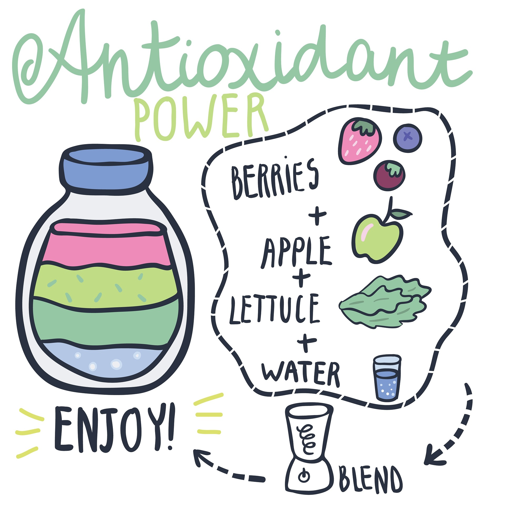 Substitua bebidas artificiais por naturais.
