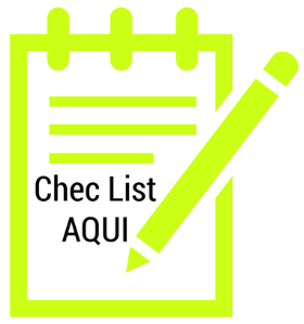 Check List do destralhe da semana - quarto e escritório.
