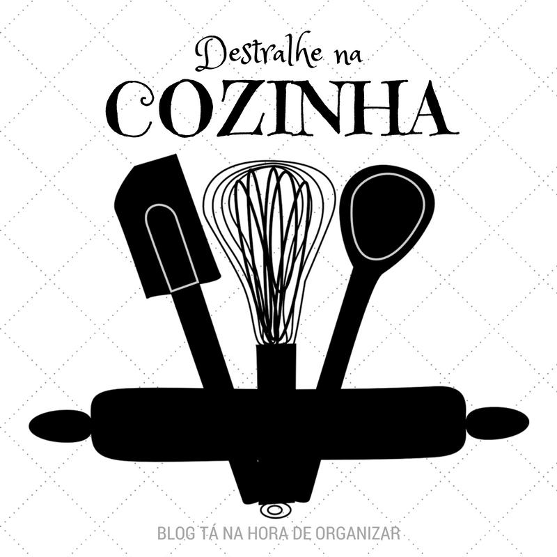 Faça o Destralhe Organizado na cozinha.