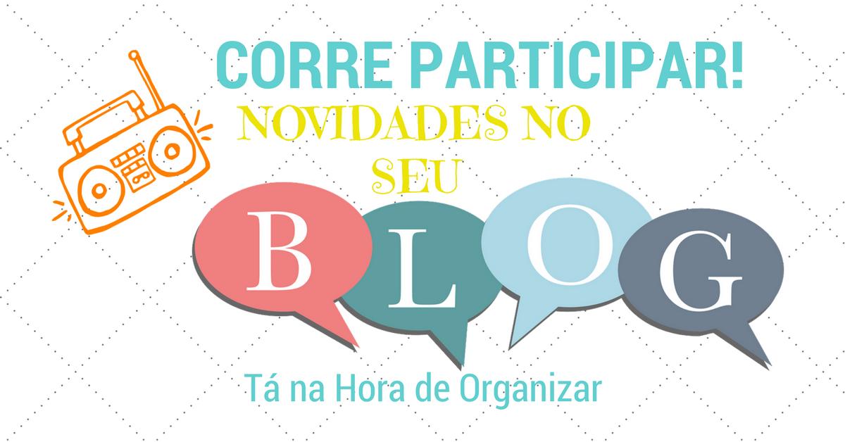 Novidades e pesquisa no Blog. Participe!